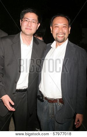 Gregory Hatanaka and Tomohiro Hayashi  at the 'Ten Nights Of Dreams' Afterparty Hosted By Cinema Epoch. Kyoto Grand Hotel and Gardens, Los Angeles, CA. 08-22-08