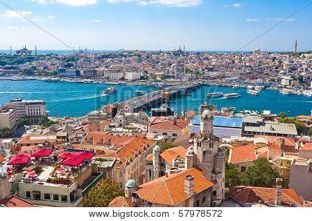 Golden Horn in Istanbul