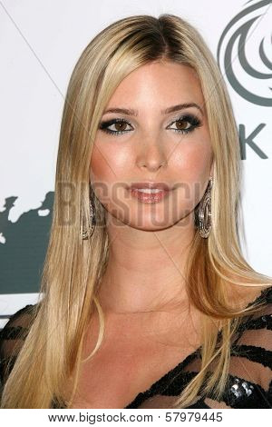 Ivanka Trump  at a party to introduce the Trump Tower Dubai. The Tar Estate, Bel Air, CA. 08-23-08