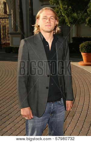 Charlie Hunnam  at the Premiere Screening of 'Sons of Anarchy'. Paramount Theater, Hollywood, CA. 08-24-08