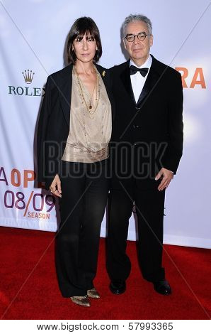 Howard Shore and wife Elizabeth  at the Opening Night of the LA Opera 2008-09 Season. Dorothy Chandler Pavilion, Los Angeles CA. 09-06-08