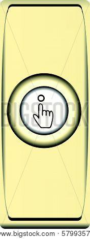 Button Brass Bell