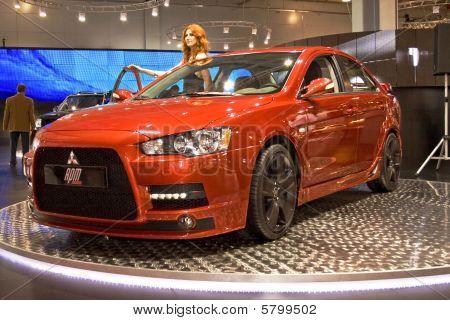Mitsubishi Lancer Evolution Rpm