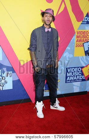 Travis McCoy  at the 2008 MTV Video Music Awards. Paramount Pictures Studios, Los Angeles, CA. 09-07-08
