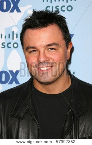 Seth MacFarlane  at the Fox Eco Casino Party. London West Rooftop, Hollywood, CA. 09-08-08