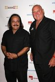 Ron Jeremy and Dennis Hoff  at a Private Premiere Party for TLC's 'Who Are You Wearing'. Stork, Holl