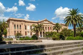 image of messina  - View at the Palazzo Zanca in Messina  - JPG