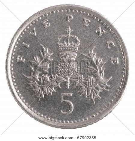 Five Pence Coin