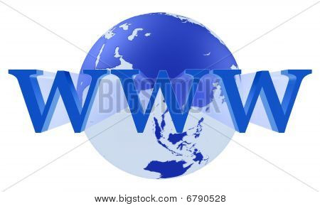 Internet Www Concept