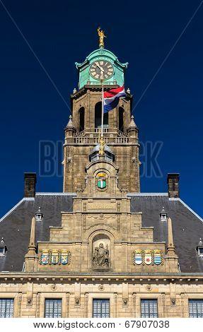 Details Of Rotterdam City Hall, Netherlands