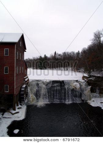 Dells Mill-winter