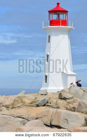 The lighthouse of Peggy's Cove