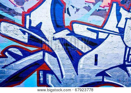 MELBOURNE, AUSTRALIA - JUNE 28 2014: Street art by unidentified artist. Melbourne's graffiti management plan recognizes the importance of street art in a vibrant urban culture