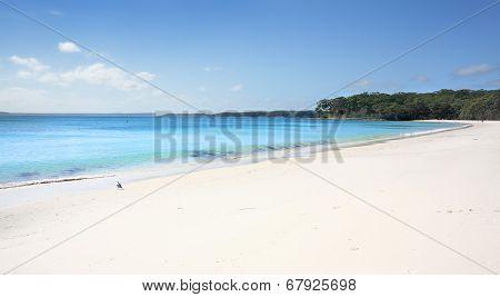 Greenfields Beach Aqua Waters And White Sandy Shore, Australia