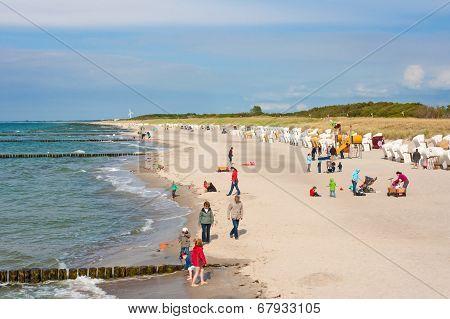 Beach In Graal-mueritz