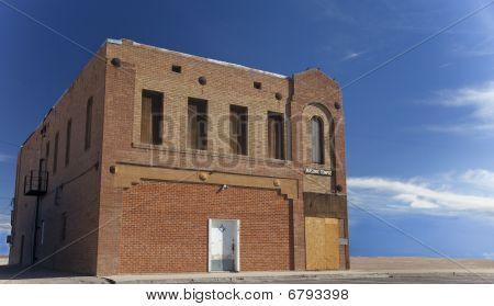 Abandoned Freemason Temple