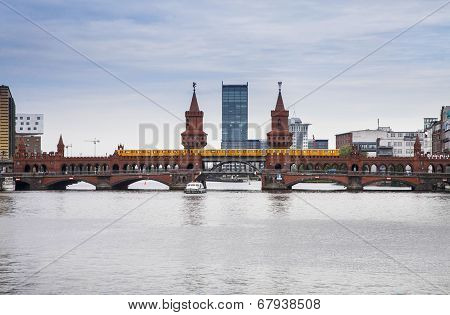 Bridge In The Center Of Berlin