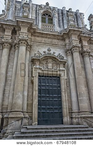 Church Of St. Teresa In Lecce