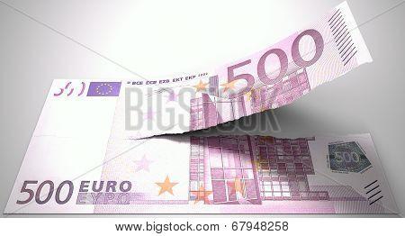 Tearing Euro Note