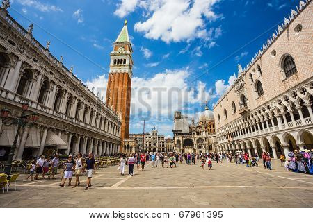 San Marco Piazza In Venice