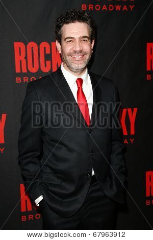 NEW YORK-MAR 13: Actor Kevin Del Aguila attends the 'Rocky' Broadway opening night after party at Roseland Ballroom on March 13, 2014 in New York City.