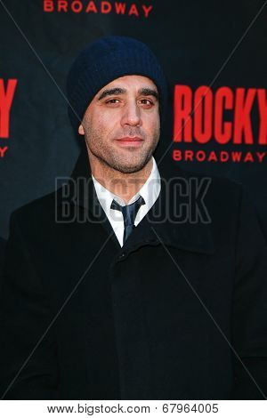 NEW YORK-MAR 13: Actor Bobby Cannavale attends the 'Rocky' Broadway opening night at the Winter Garden Theatre on March 13, 2014 in New York City.