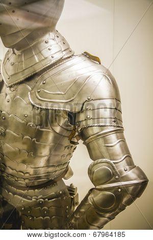 Security Medieval iron armor, Spanish armada