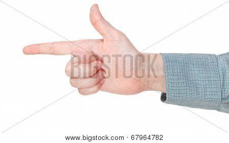 Finger Handgun - Hand Gesture