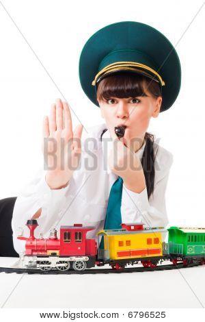 Greve de trabalhadores da estrada de ferro