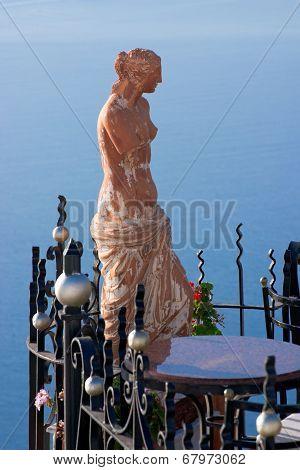 Statue Of Aphrodite, Santorini Greece