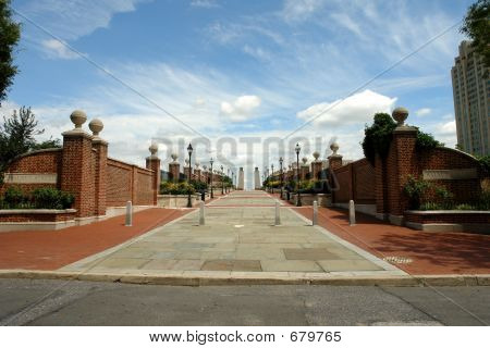 Walkway To The Waterfront