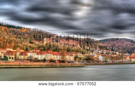 View Of Heidelberg Castle - Germany, Baden-wurttemberg