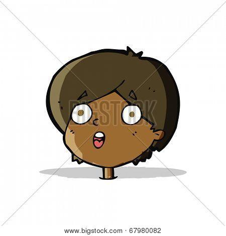 cartoon amazed expression