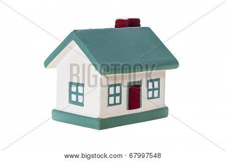 Model house ,isolated on white