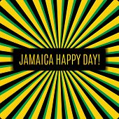 pic of rastafari  - Jamaica happy day Greeting card - JPG