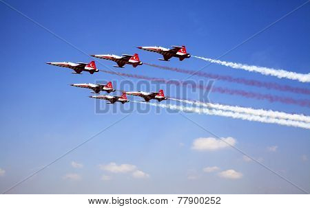 Air show In Istanbul