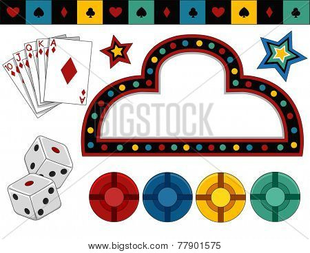 Items of Different Items Typically Associated with Casinos