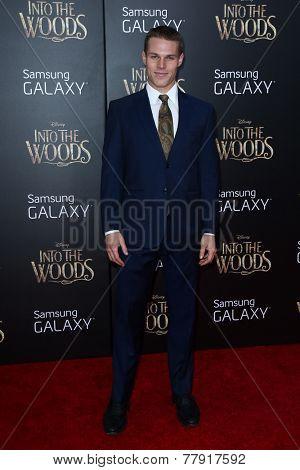 NEW YORK-DEC 8: Actor Brock Harris attends the