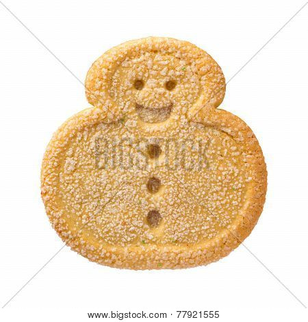 Snowman Christmas Cookie