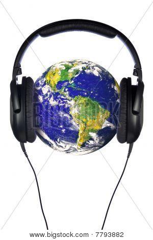 Headphones On The World