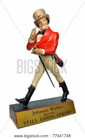 Johnnie Walker Whiskey - Striding Man