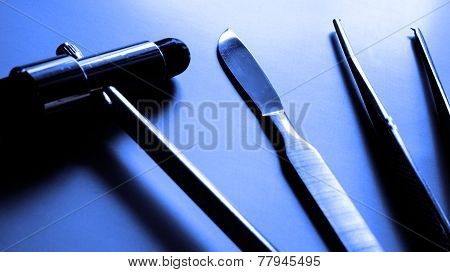 Medical Symbol - Steel Scalpel.