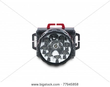 Flashlight Isolated On White Background