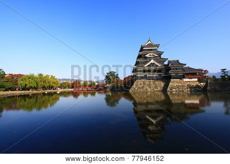 Reflection Of The Castle, Matsumoto, Japan