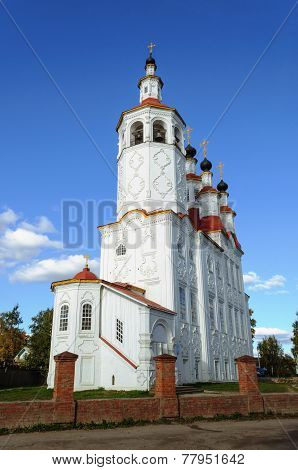 Ancient Christian Church In Totma