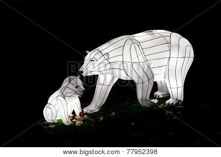 Velvet Polar Bear