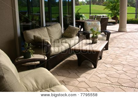 Enclosed Outside Living Area