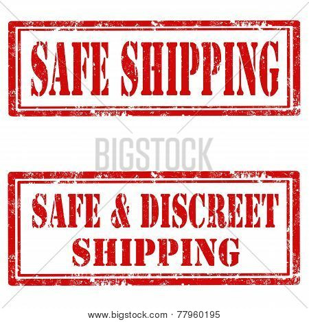 Safe Shipping-stamp