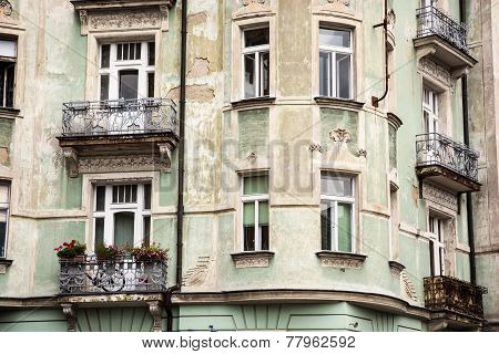 Beautiful Old House With Balconies