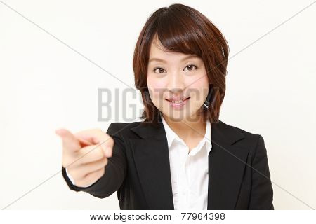 Japanese businesswoman decided